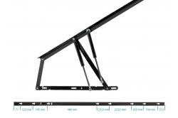 articulation extra-longue pour lit coffre SOMLIFT 1500-2...
