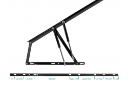 articulation extra-longue pour lit coffre SOMLIFT 1500...