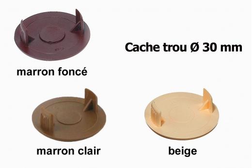 CACHE TROU Ø 30 mm