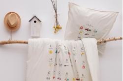Linge de lit enfant A LA FERME - SYLVIE THIRIEZ