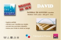 isolateur de sommier DAVID