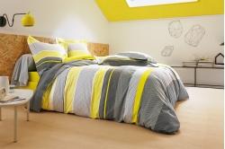 parure de lit FESTIVAL citron - FRANCOIS HANS