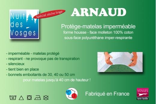Protège Matelas Imperméable Arnaud