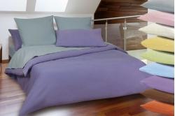 linge de lit CAEN - flanelle unie (fin de série)