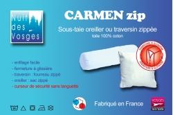 sous-taie CARMEN ZIP