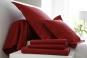 linge de lit UNI COTON PERCALE soft - BLANC DES VOSGES rubis