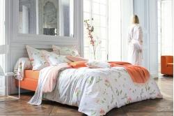parure BUCOLIQUE orange (fin de série)