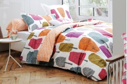 linge de lit CEDRES orange - SCION LIVING