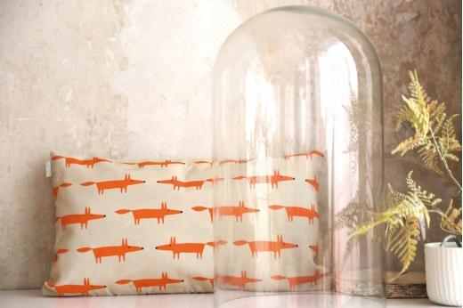 coussin MR FOX mandarine - SCION LIVING