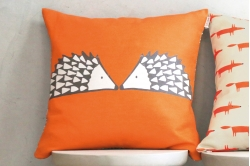 coussin carré SPIKE mandarine - SCION LIVING