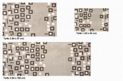 tapis antidérapant URBAN carrés