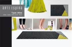 tapis antidérapant ART DECO jaune - ARTE ESPINA
