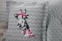 taie d'oreiller carrée motif girafe BUNNY - TRADILINGE