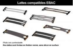 latte MULTIPLIS de HÊTRE adaptable EBAC