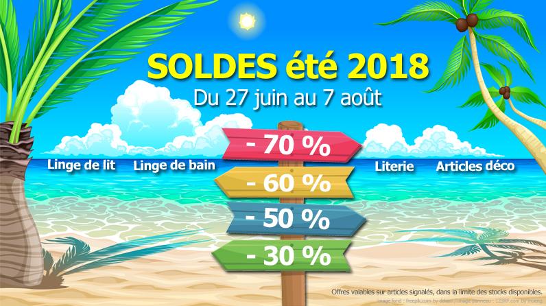 SOLDES ETE 2018