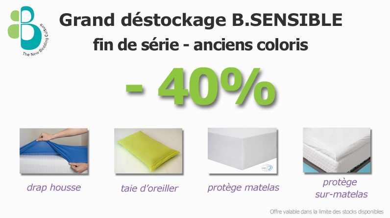 Déstockage B.SENSIBLE