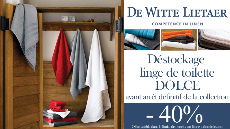Linge de bain DOLCE -40%