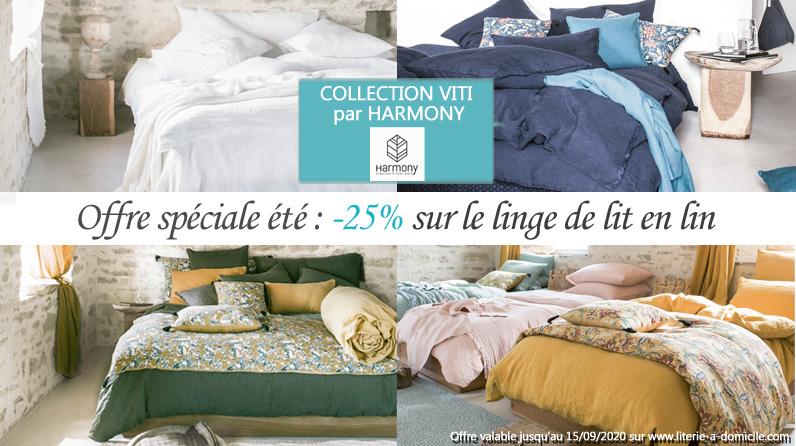-25% sur le linge de lit en lin